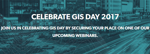 Celebrate GIS Day 2017