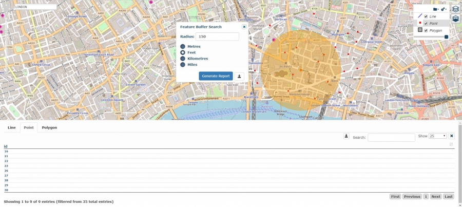 Proximity Reporting Using GIS