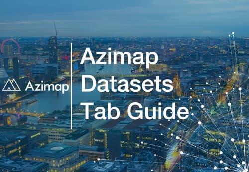 Azimap Datasets Tab Guide