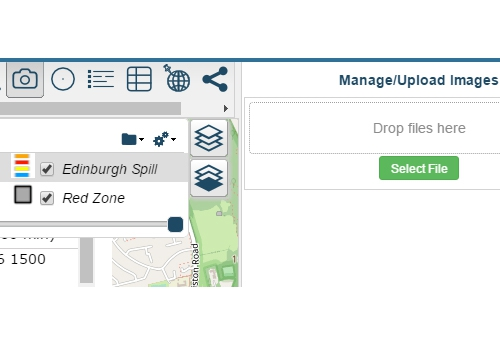 How to upload and view images using Azimap GIS