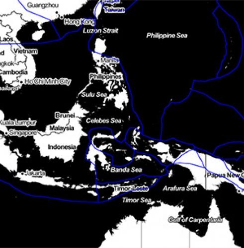 Location of Tectonic Plates