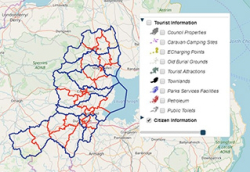 Visit Mid Ulster Interactive Tourism Map