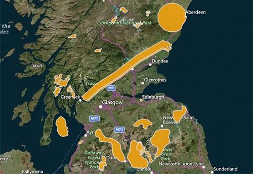 Species Conservation and Grey Squirrel Control Areas in Scotland