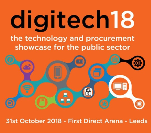 Digitech18 - The technology & procurement showcase for the public sector