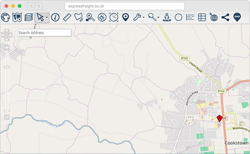Map Toolbar Configuration