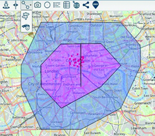 Routing, Drive Time Analysis and Snapping Available with Immediate Effect