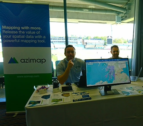Azimap Exhibits at GeoPlace Annual Conference 2018