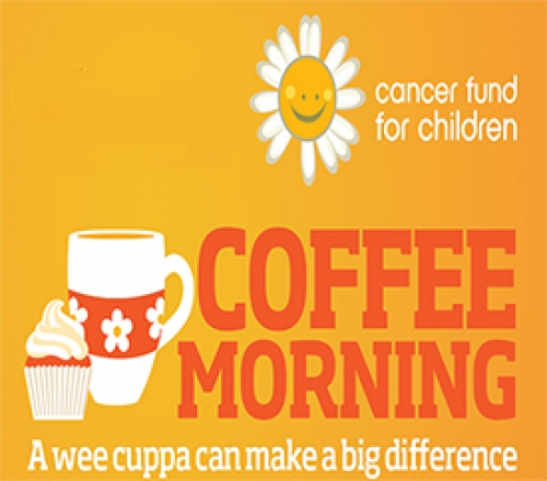 Cancer Fund for Children Charity Coffee Morning