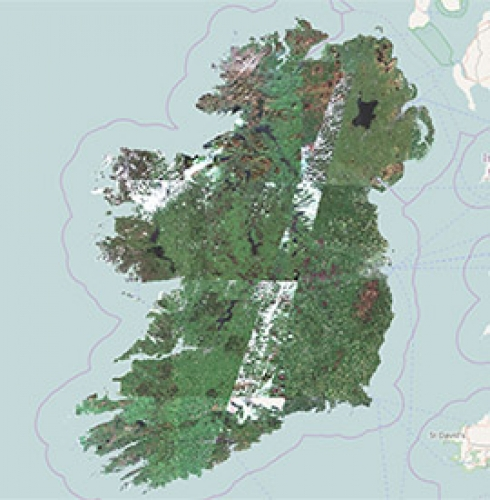 Sentinel 2 Map of Ireland