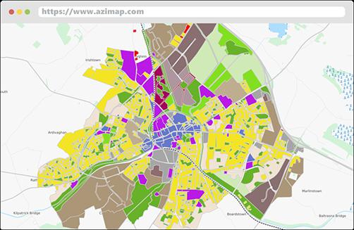 Data Visualisation Features Azimap